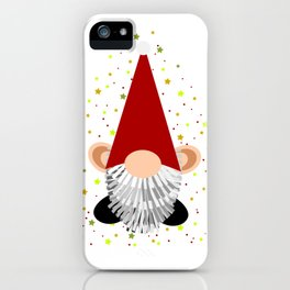 Santa - Gnome iPhone Case