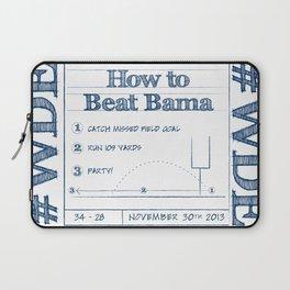 How to Beat Bama 2 Laptop Sleeve