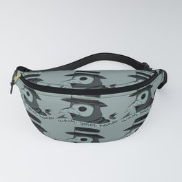 Plague doctor art mask drawing aesthetic  Fanny Pack
