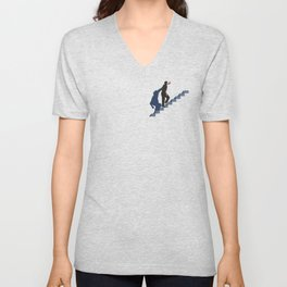 How's it going to end ? Unisex V-Neck