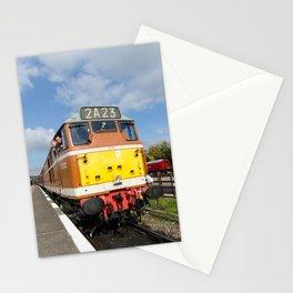 Diesel loco 5830 portrait Stationery Cards