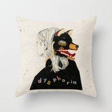 Dysphoria Throw Pillow