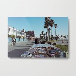 Venice Boardwalk Metal Print