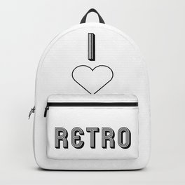 I love retro Backpack