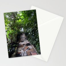 Lush tunnel Stationery Cards