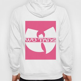 white in pink wu-tang Hoody