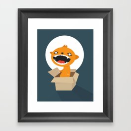 Bad Surprise Framed Art Print