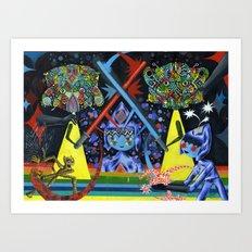 Principe Espaditas Art Print