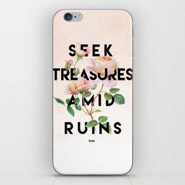Seek Treasure iPhone Skin