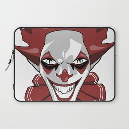 Clown Wicked Common Came creepy horror gift Laptop Sleeve