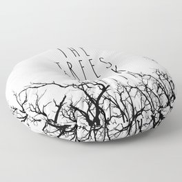 THE TREES SPEAK LATIN QUOTE BY MAGGIE STIEFVATER  Floor Pillow