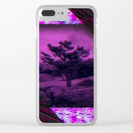 The Lone Tree Clear iPhone Case