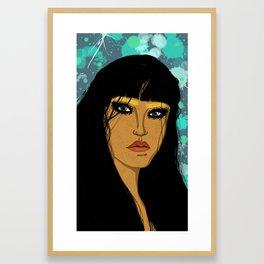 Bleached Framed Art Print