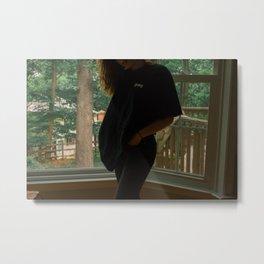 windowsill posed Metal Print