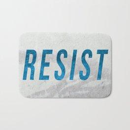 RESIST 2.0 - Blue #resistance Bath Mat