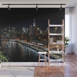 Manhattan Skyline East Wall Mural