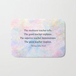 The Great Teacher Bath Mat