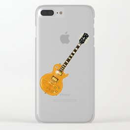Tiger Top Clear iPhone Case