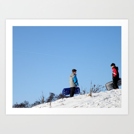 On the Hill II #10 Art Print
