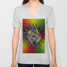 Abstract perfection - 102 Unisex V-Neck
