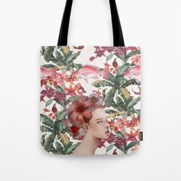 Lost in Blindfulness Tote Bag
