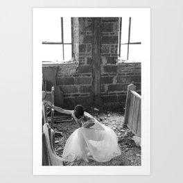 Brokn - by Thaler Photography Art Print