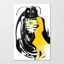 Just another superhero Canvas Print