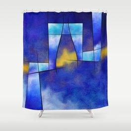 Kefharia V1 - cubic vision Shower Curtain
