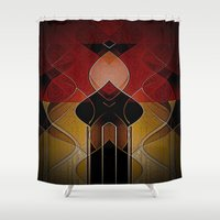 russian Shower Curtains featuring Russian Royalty by Fringeman