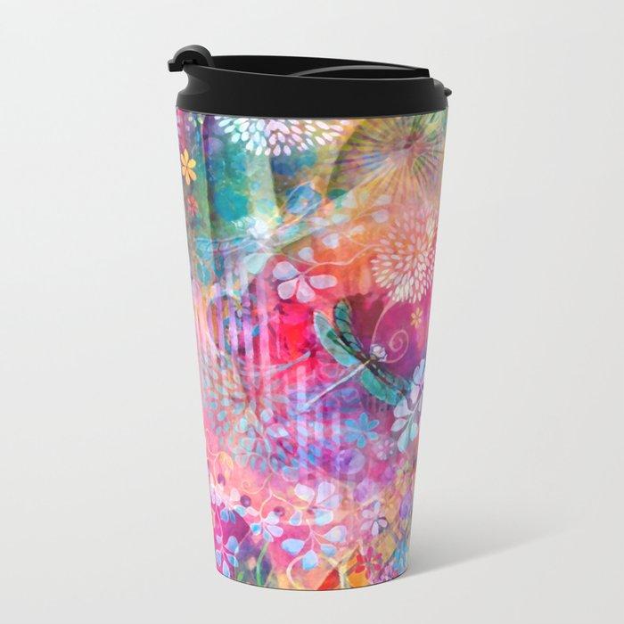 Hidden Heart Metal Travel Mug