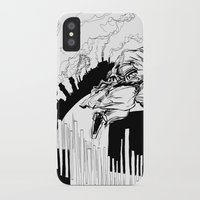 runner iPhone & iPod Cases featuring Runner by Michael Tuck
