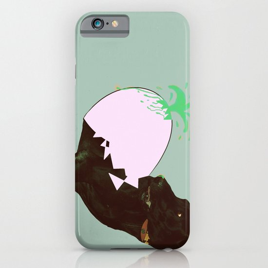 To spring a leak, is as dog is to egg. iPhone & iPod Case