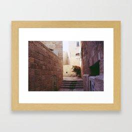 Old City, Israel Framed Art Print