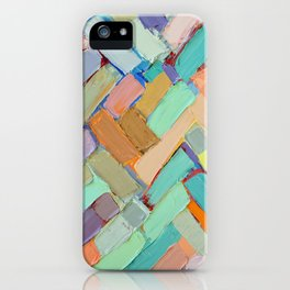 Peachy Internodes iPhone Case