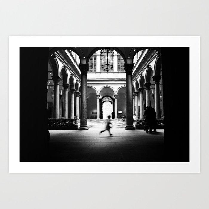 Photos of Ghosts Art Print
