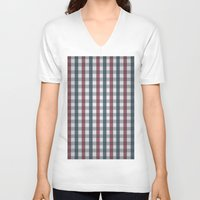 italian V-neck T-shirts featuring Italian Table by iGems