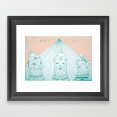OTTER OTHER OTTER Framed Art Print