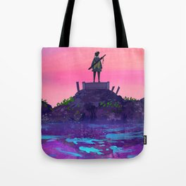 Pink Skies Tote Bag