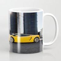 lamborghini Mugs featuring Lamborghini by Speed-Photos