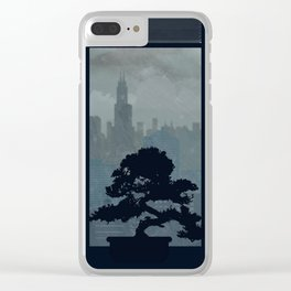 Watching The Storm Clear iPhone Case
