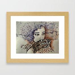 Roasted Coffee Framed Art Print