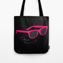 Darren Criss Glasses Tote Bag
