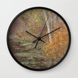 Pondside Pastel Wall Clock