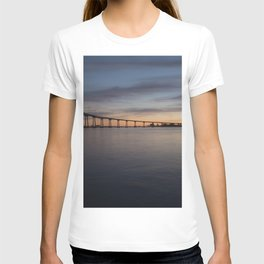 LANDSCAPE PHOTOGRAPHY OF BRIDGE T-shirt