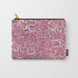 Pink on Pink - Paisley Carry-All Pouch