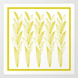 Eternity in Gold Leaf II Art Print