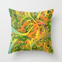 pineapple Throw Pillows featuring Pineapple by Danny Ivan