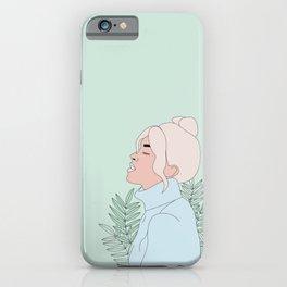 Just Breathe iPhone Case