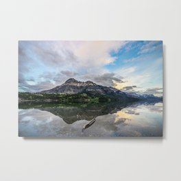 Lakefront View Metal Print