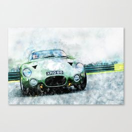 Aston DB4 GT, Zagato Canvas Print